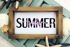Summer Vibes Cut File - SVG & PNG Product Image 2