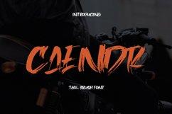 Caendr - Brush Font Product Image 1