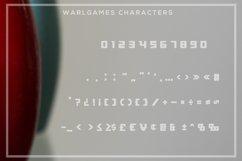 WarlGames Font Product Image 6