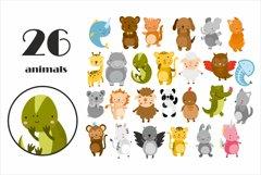 Cute baby animals safari. Sublimation animals. Animal png Product Image 2