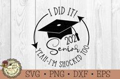 Graduation SVG Bundle-2021 Senior-Graduation Cap SVG Product Image 3