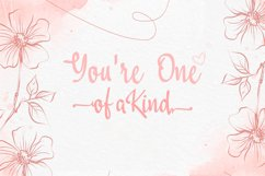 Lovestreet modern calligraphy font Product Image 3