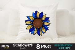 Sunflowers Sublimation Bundle, Sunflower Sublimation PNG Product Image 3