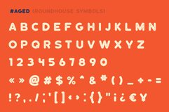 Roundhouse - Rounded Vintage Typeface Product Image 2