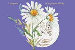 set of watercolor bouquets of flowers Product Image 3