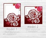 Roses wedding bundle svg Product Image 3