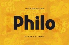 Philo Font Product Image 1