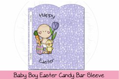 Baby Boy Easter Candy Bar Sleeve Product Image 1