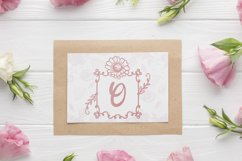 Square Lily Monogram Product Image 2