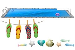 Summer Time Clip Art Product Image 5