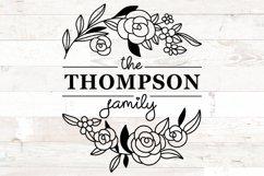 Family Monogram Bundle, Monogram Family Name Product Image 4