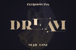 Dream - Magical Serif Font Product Image 1