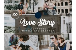 100 Love Story Mobile and Desktop PRESETS Product Image 1