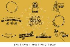BEST SELLER Succulent plants SVG bundle for Cricut, kindness Product Image 2