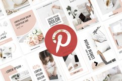Ladyboss Pinterest Templates for Canva and Photoshop Product Image 6