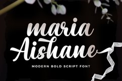 Maria Aishane Script Product Image 1