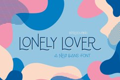 Lonely Lover Font Product Image 1