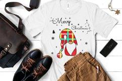 Noel Xmas SVG, Gnome, Merry Christmas, Kids Funny Christmas Product Image 1