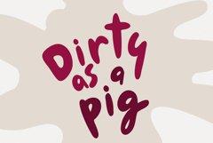 Chubby Font Le Petit Cochon Webfont Product Image 5