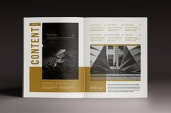 The Golden Magazine Indesign Template Product Image 2