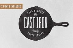 Cast Iron Family - Font Product Image 1