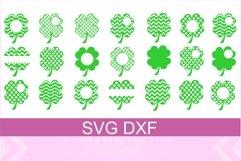 St. Patrick Shamrock SVG DXF Files Product Image 1