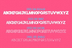 Fried Day Font Family (4 Fonts) Product Image 6