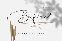 Befront - signature font Product Image 1