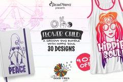 Hippie SVG Bundle | Peace SVG Bundle Product Image 1