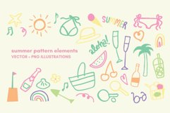 fun summer stickers pack Product Image 1