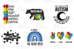 Autism Quotes svg bundle Product Image 2