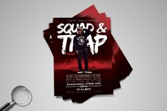 Squad & Trap | Urban Flyer Template Product Image 4