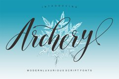 Archery Script Product Image 1