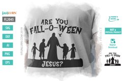 Are You Fall O Ween Jesus SVG Cut File Product Image 1