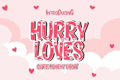 Hurry Loves Product Image 1
