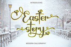 Easter Story - Modern Calligraphy Product Image 1