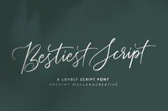 Bestiest Script Lovely Modern Font Product Image 1