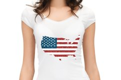 Sublimation, American Map Product Image 2