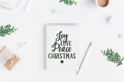MERRY & BRIGHT a Festive Christmas Font Duo Product Image 2