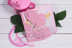 Baby Shower Invitation, Its a Girl cutting file Product Image 1