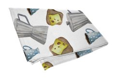 Watercolor breakfast clipart Product Image 3