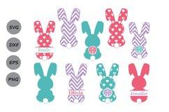 Bunny SVG, Easter Bunny Svg, Easter Svg, Rabbit SVG, Bunny. Product Image 1