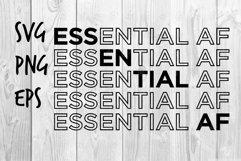 Essential af SVG design Product Image 1