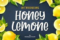 Honey Lemone | A Quirky Handwritten Font Product Image 1