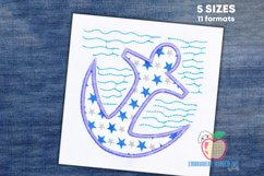 Anchor Embroidery Applique Product Image 1