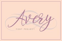 Avery Font Product Image 1