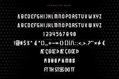 Starforce | Futuristic Display Typeface Product Image 5