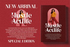 Hustle Actlife - Beautiful Serif Font Product Image 14