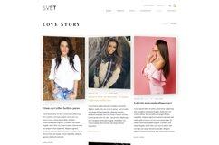 Svet - Fashion E-commerce PSD Template Product Image 3