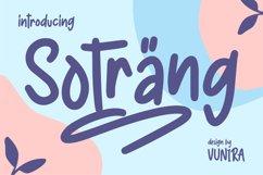 Sotrang | Display Font Product Image 1